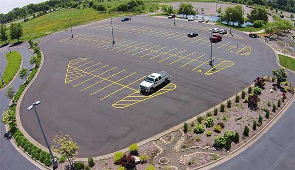 Eagle Brook Church Parking Lot Paved By Nugent